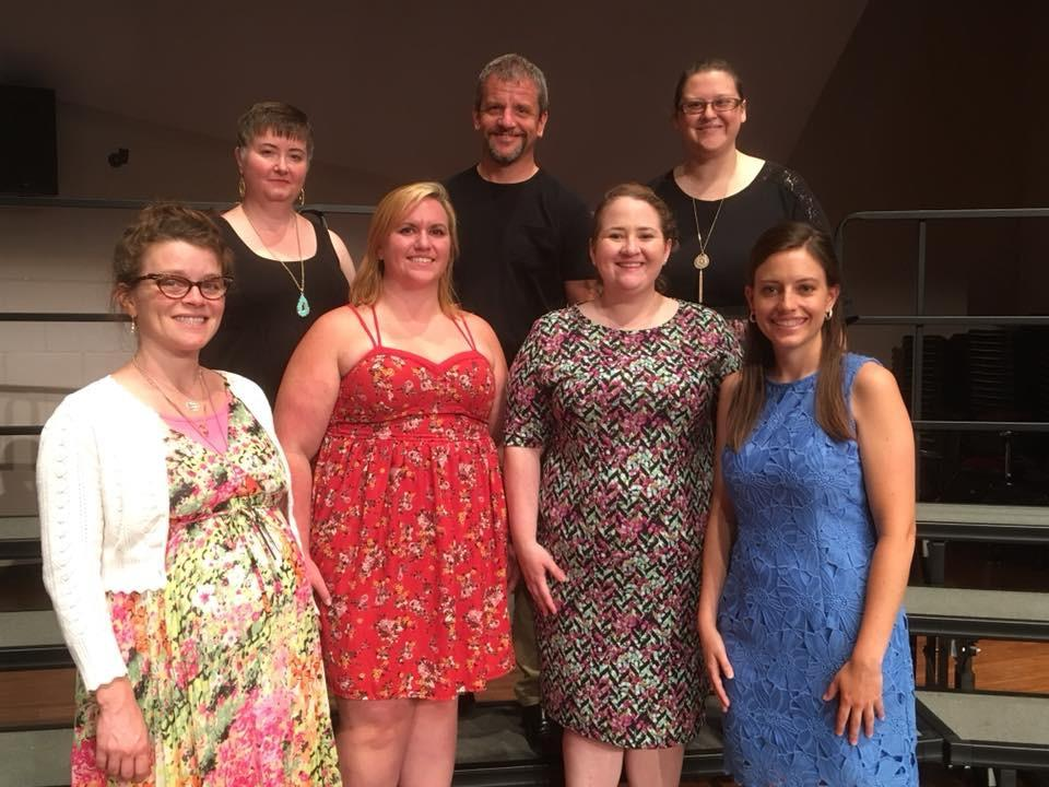 A formal picture of our Kodaly faculty