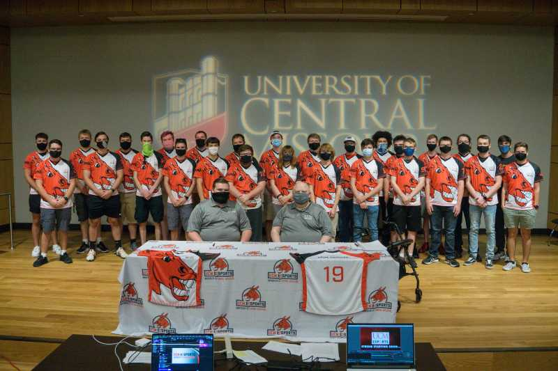 UCM Esports Enters Third Year with Player Signing Ceremony, Scholarships