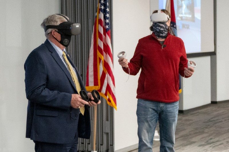Gov. Parson Lauds Mixed Reality Studio for Contributions to Prepare State's Workforce