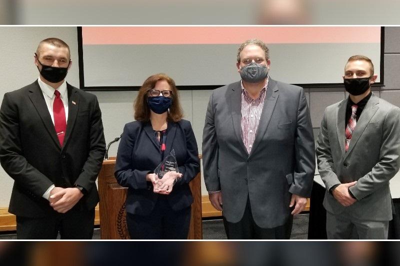 Bax's Devotion to Service Contributes to Prestigious Kirkpatrick Award