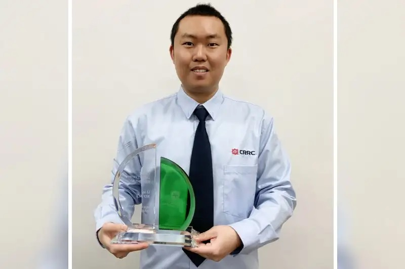 UCM Student Lu Li Receives Safety Professional of the Year Award