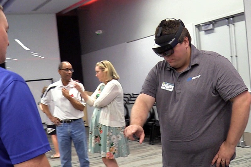 Community Members Preview UCM's Mixed Reality Studio at Open House
