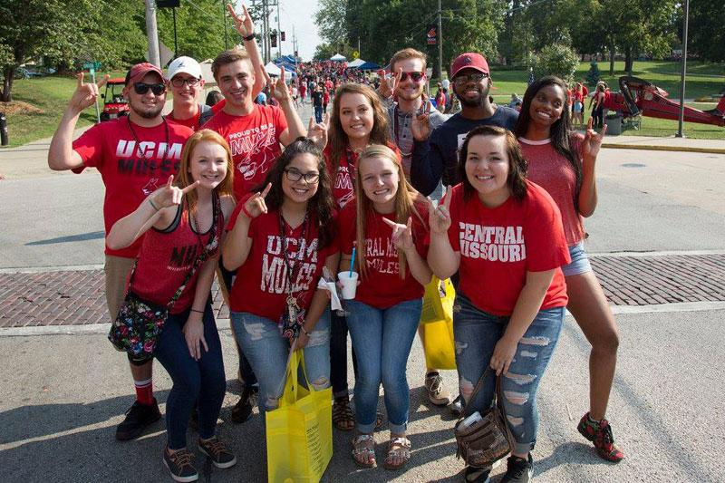 UCM Students at Get The Red Out