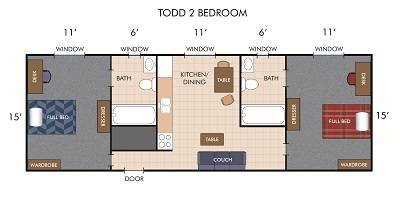 Todd Two Bedroom