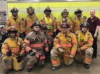 UCM Students at fire school