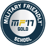 Military Friendly gold seal