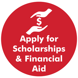 Apply for scholarships and financial aid