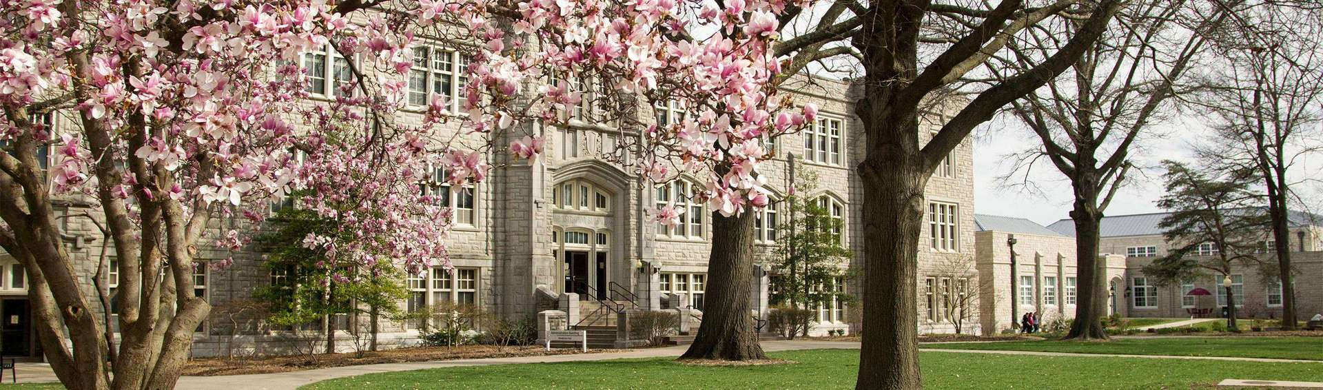 UCM campus in the Spring
