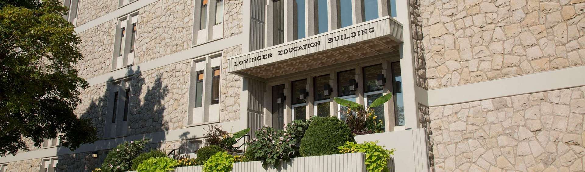 Outside view of the Lovinger building