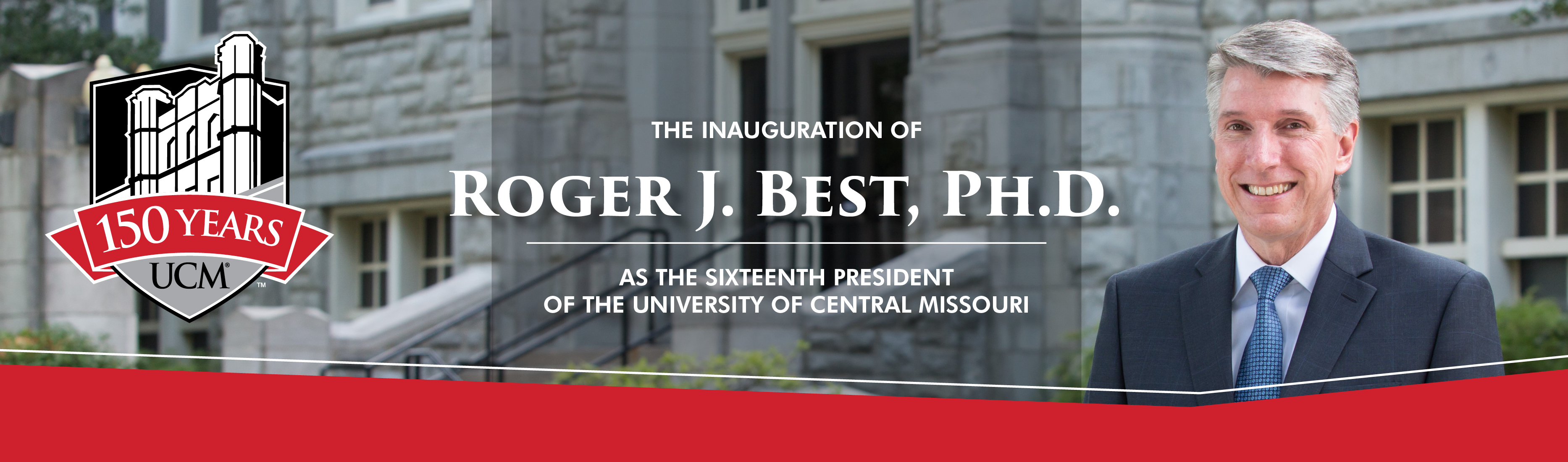 Inauguration of President Roger Best