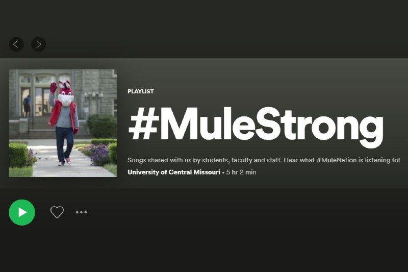 #MuleStrong Playlist