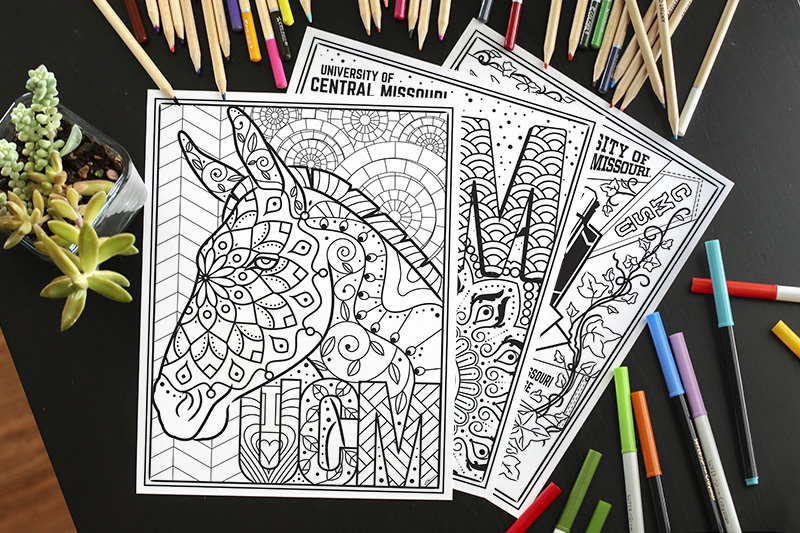 UCM Coloring Pages