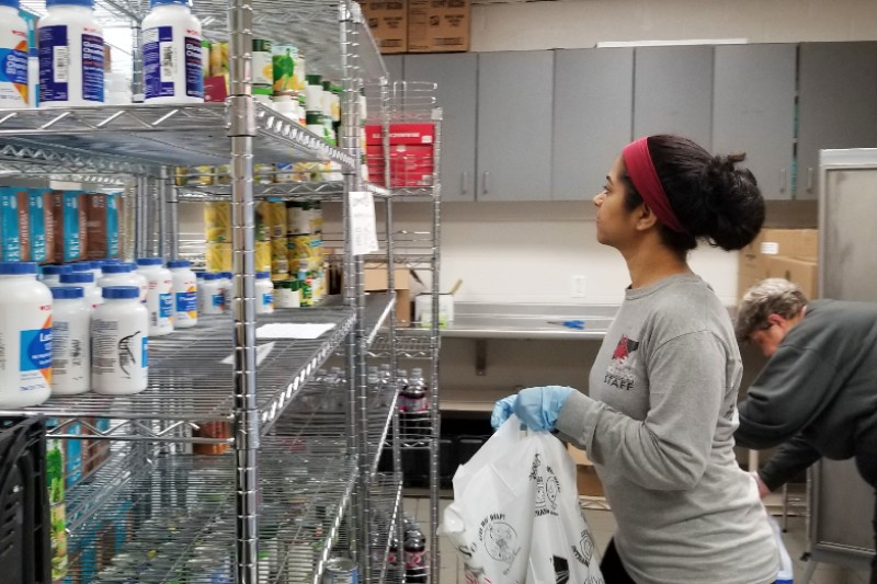 UCM Campus Cupboard Volunteers