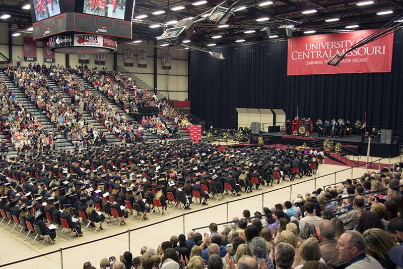 UCM Commencement Ceremony