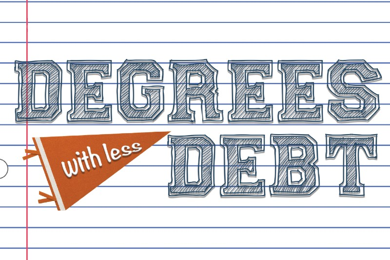 Degrees With Less Debt