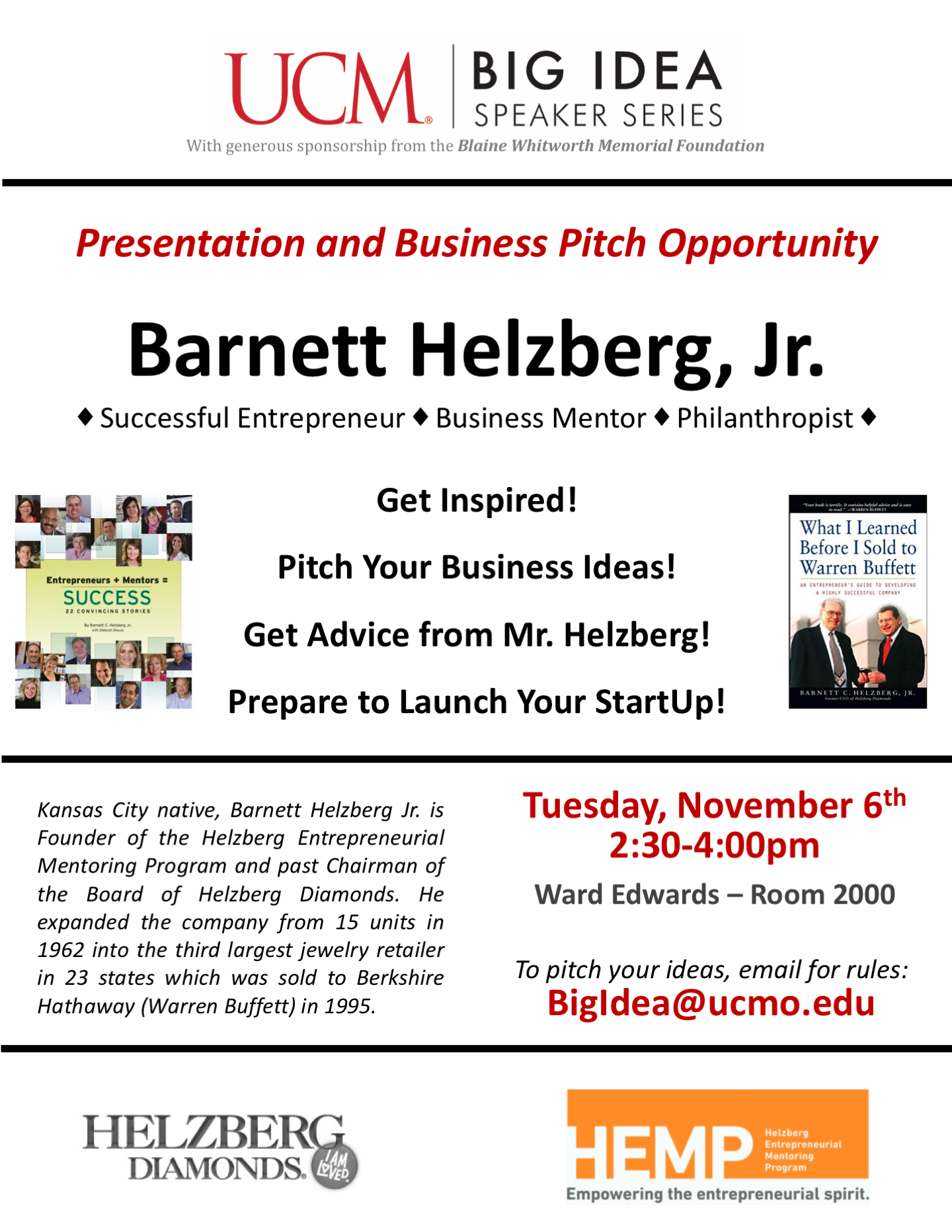 students have opportunity to pitch business ideas to kc entrepreneur