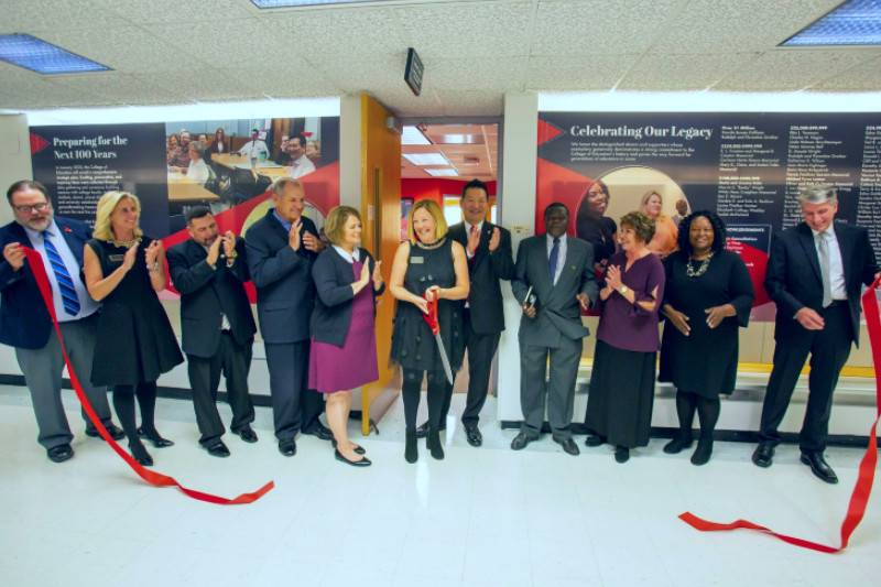 UCM COE Legacy Suite Ribbon Cutting