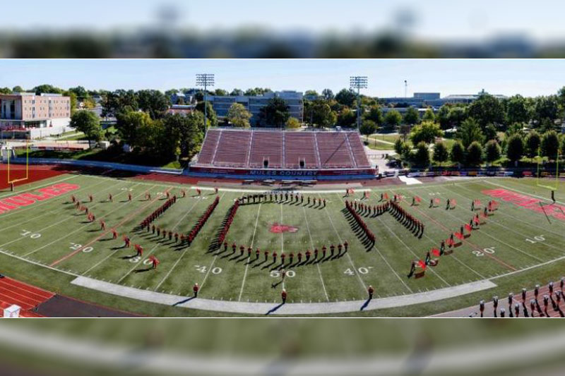 UCM's Marching Mules