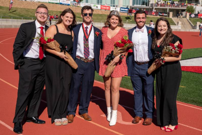 UCM Homecoming Royalty Finalists 2019